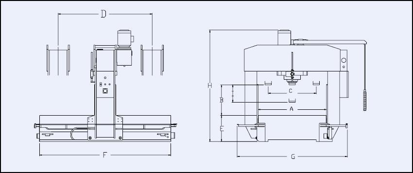 presse hydraulique - pro-dis