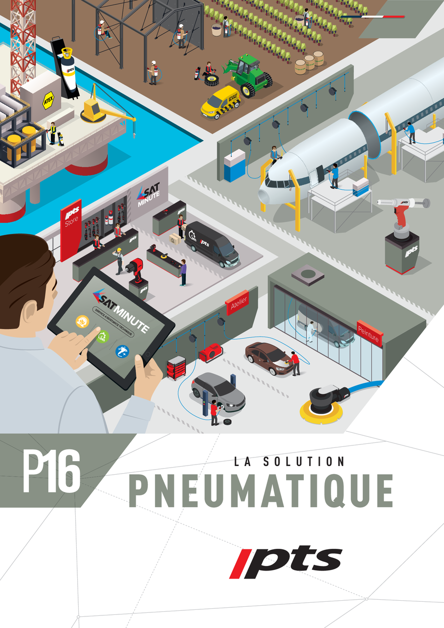 pro dis la solution pneumatique SAM outillage PTS