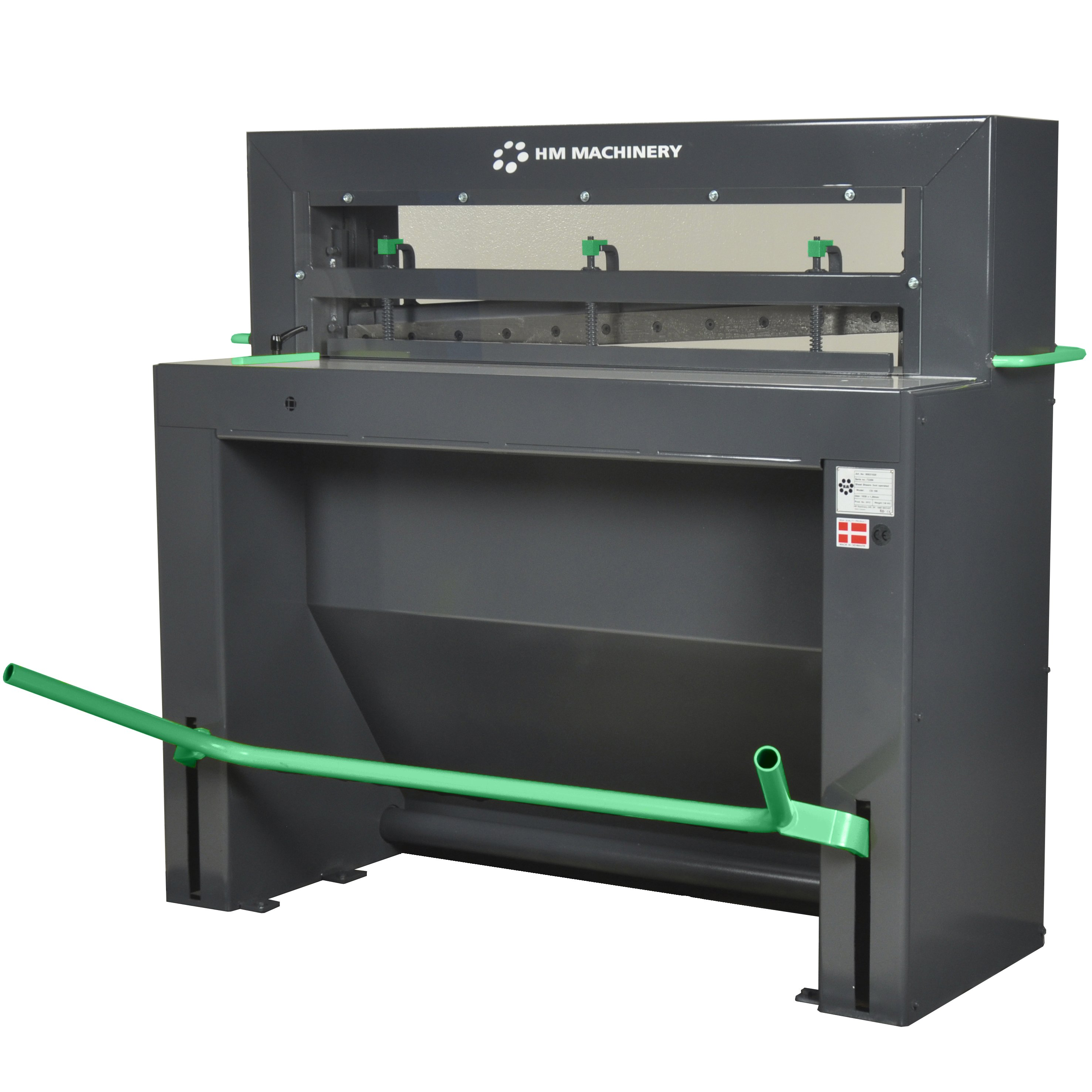 Cisaille guillotine commande au pied CS 100 HM Machinery