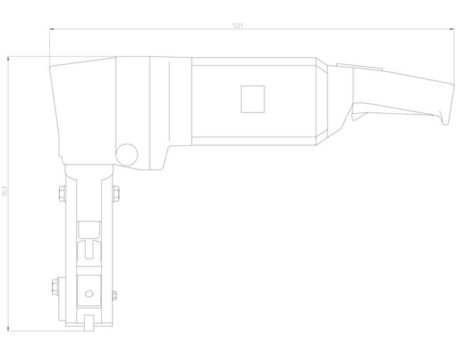 TruTool TKF1500 - Dimensions