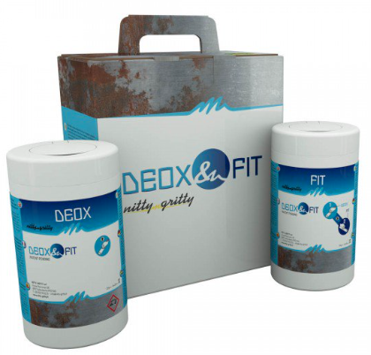 Solution de passivation Deox Fit Wipes Nitty Gritty