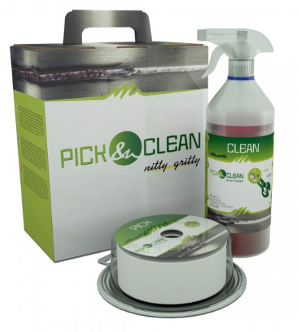 Solution de passivation Pick Clean Wipes Nitty Gritty 1